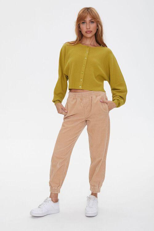 Ribbed Knit Cardigan Sweater, image 4