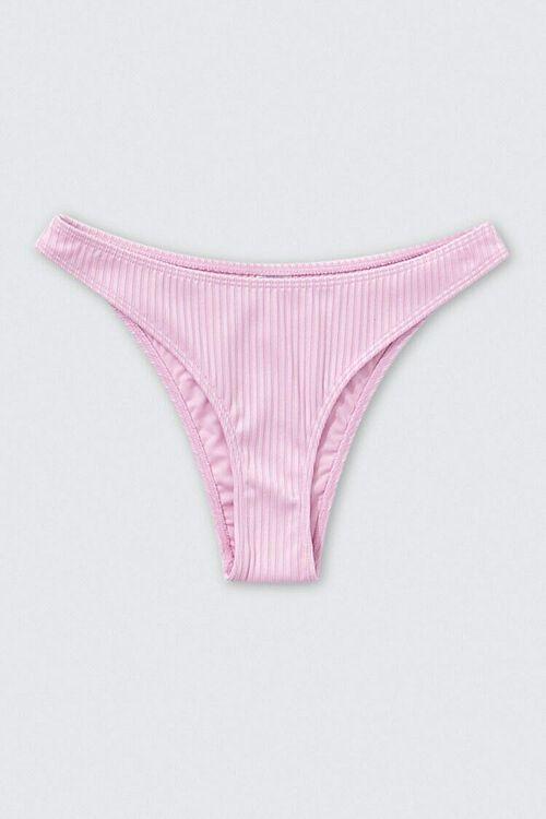 Cheeky Ribbed Bikini Bottoms, image 1