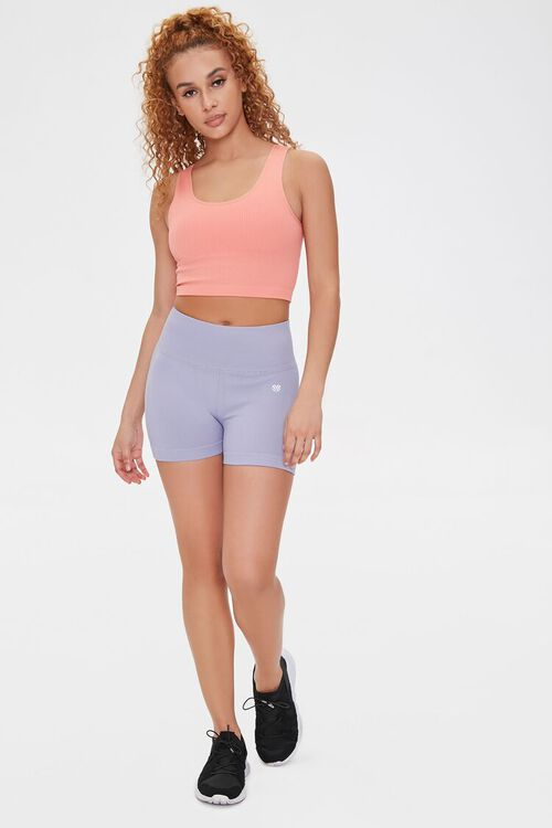 CORAL Low Impact - Seamless Ribbed Sports Bra, image 4