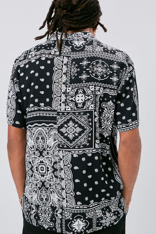 Classic Fit Paisley Print Shirt, image 3
