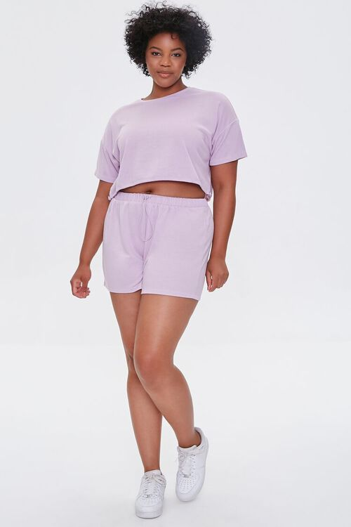 Plus Size French Terry Shorts, image 5