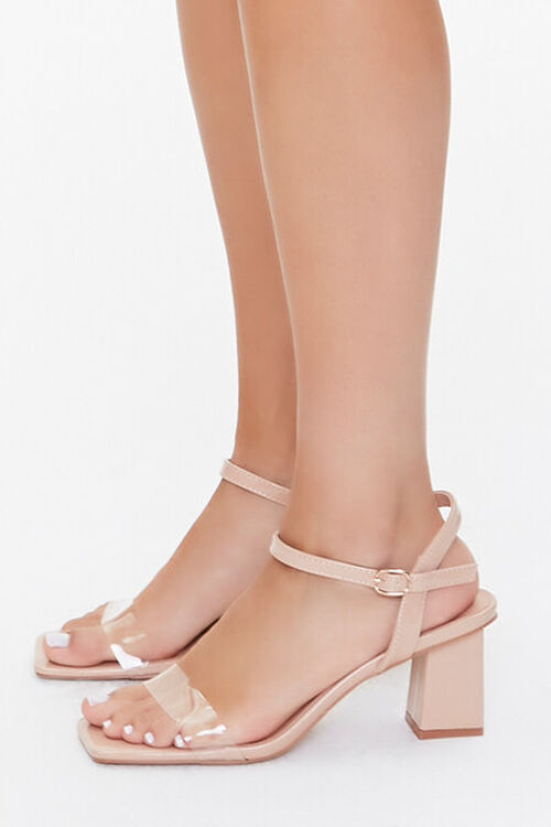 Transparent-Strap Block Heels, image 2
