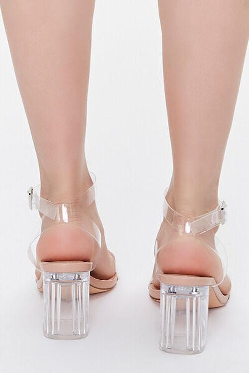 Transparent-Strap Block Heels, image 3