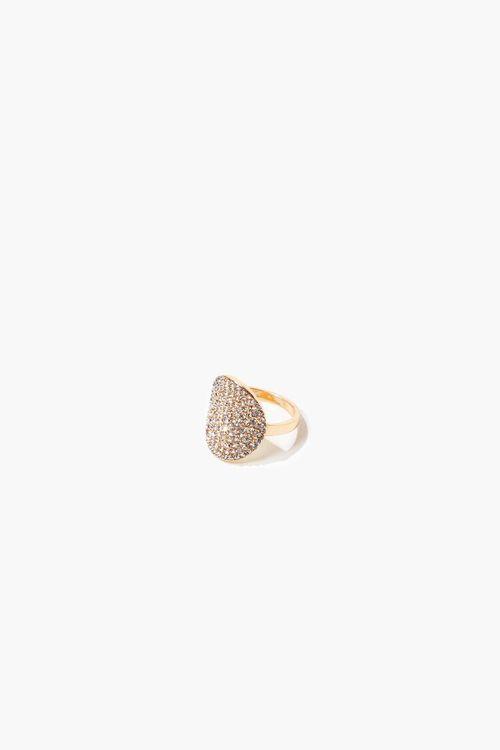 Round Rhinestone Ring, image 2