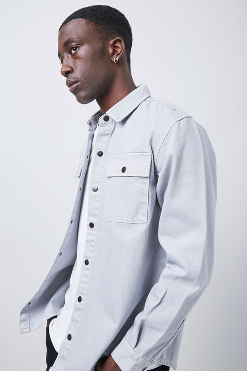 Buttoned Flap Pocket Shirt, image 1