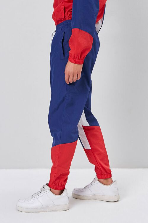 Colorblock Windbreaker Pants, image 3