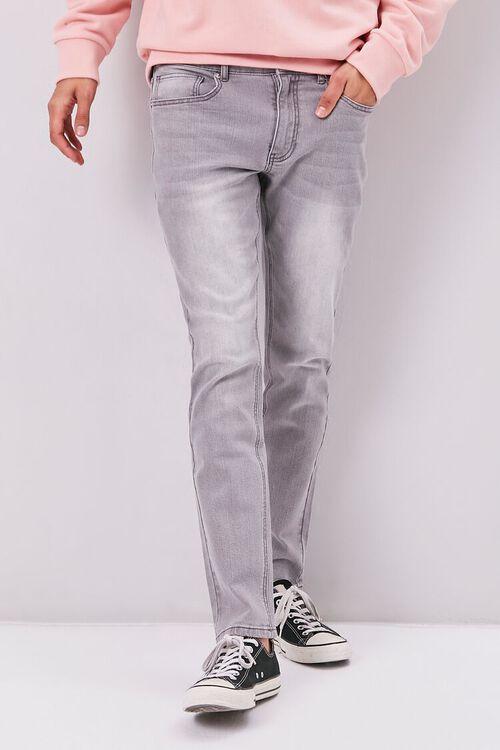 Basic Slim-Fit Jeans, image 2