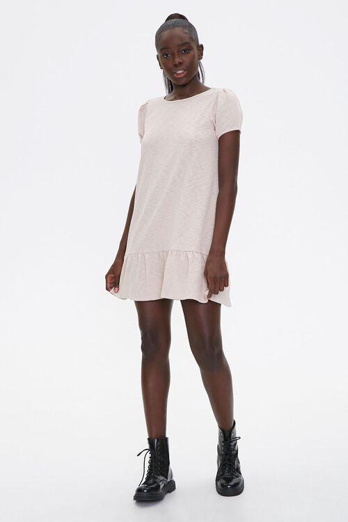 Flounce-Hem Mini Dress, image 4