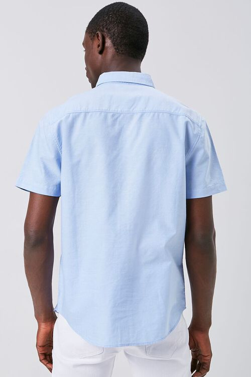 Fitted Oxford Pocket Shirt, image 3