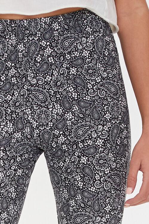Jordyn Paisley Print Flare Pants, image 5