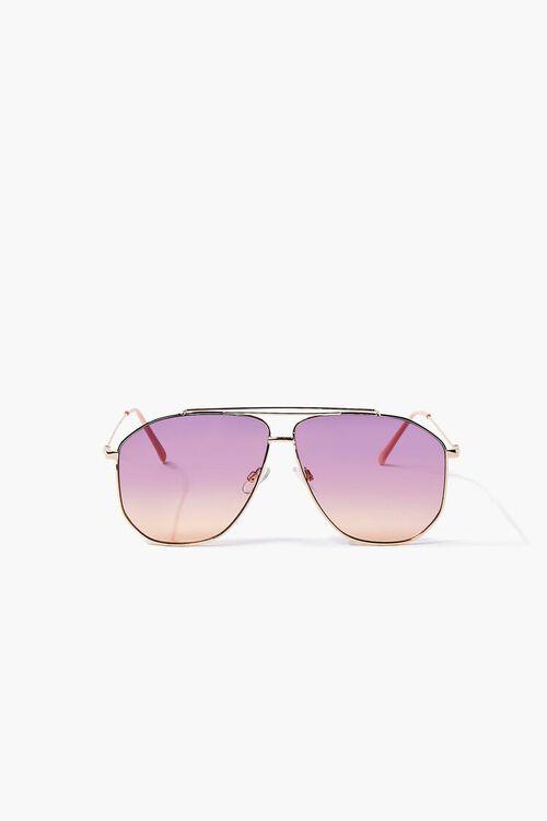 Ombre Aviator Sunglasses, image 1
