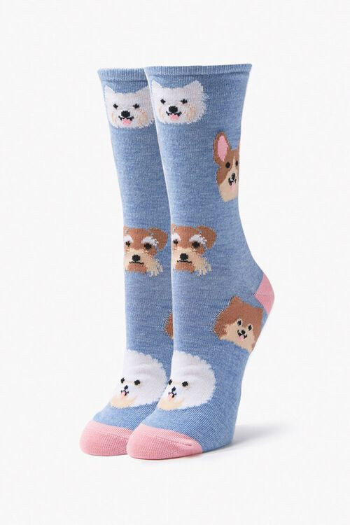 Dog Print Sock Set, image 3