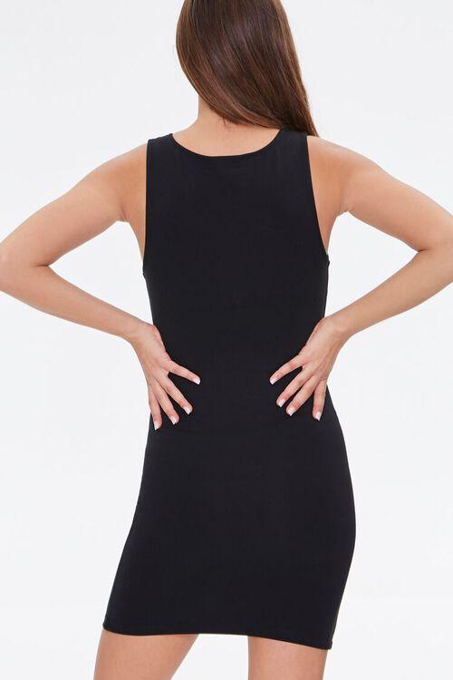 BLACK Bodycon Mini Dress, image 3