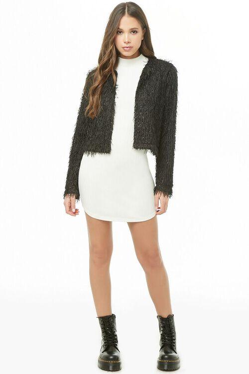 Shimmery Fringe Jacket, image 4