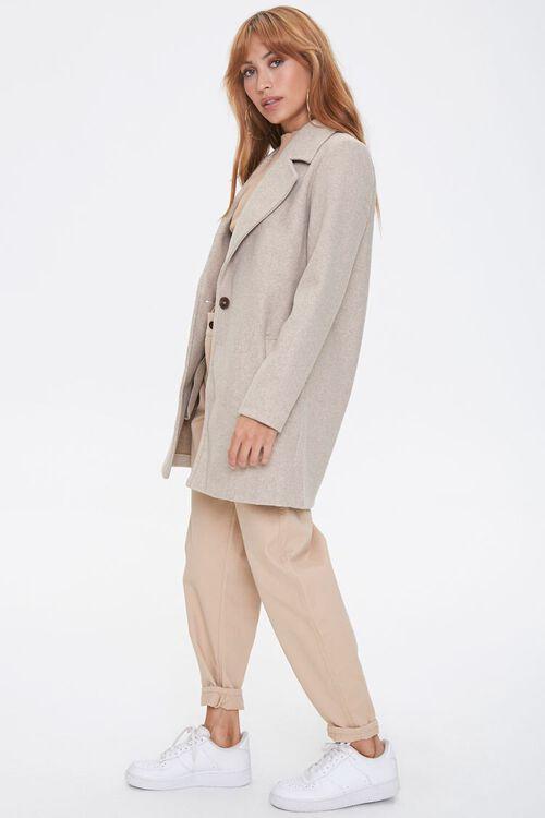 Heathered Fleece Blazer, image 2