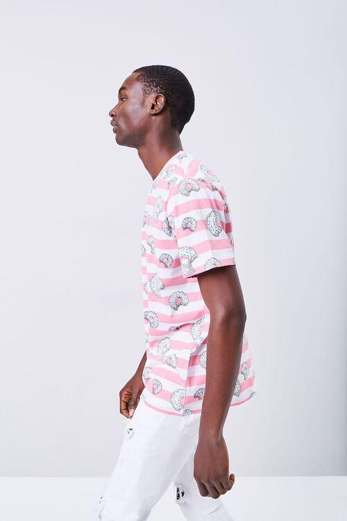 Donut Print Striped Shirt, image 2