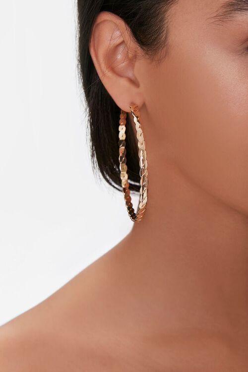 Braided Hoop Earrings, image 2
