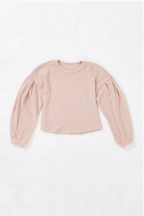 Girls Balloon-Sleeve Top (Kids), image 1
