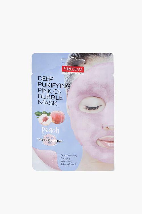 PINK Peach Bubble Sheet Mask, image 1