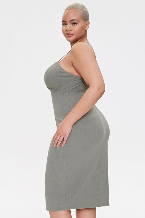 Plus Size Ribbed Bodycon Dress, image 2