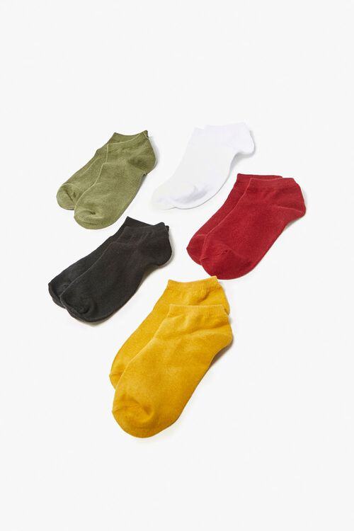 Marled Ankle Socks - 5 Pack, image 1