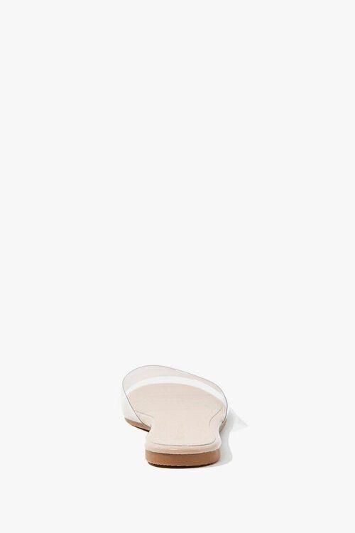 Transparent Faux Leather Sandals, image 2