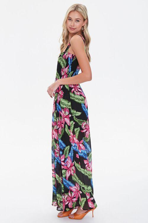 Tropical Print Wide-Leg Jumpsuit, image 2