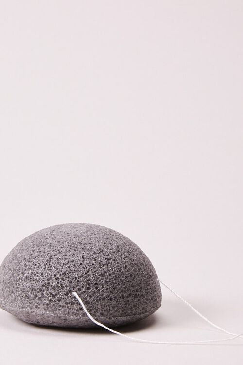 Konjac Cleansing Sponge with Bamboo Charcoal, image 3