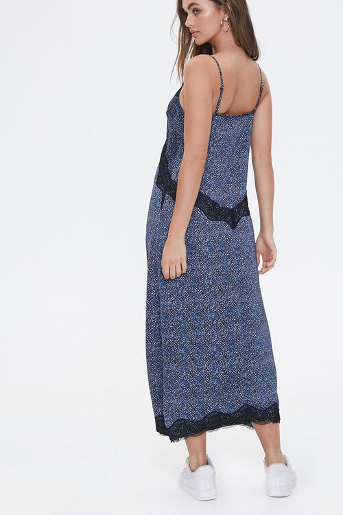 Spotted Print Maxi Dress, image 3