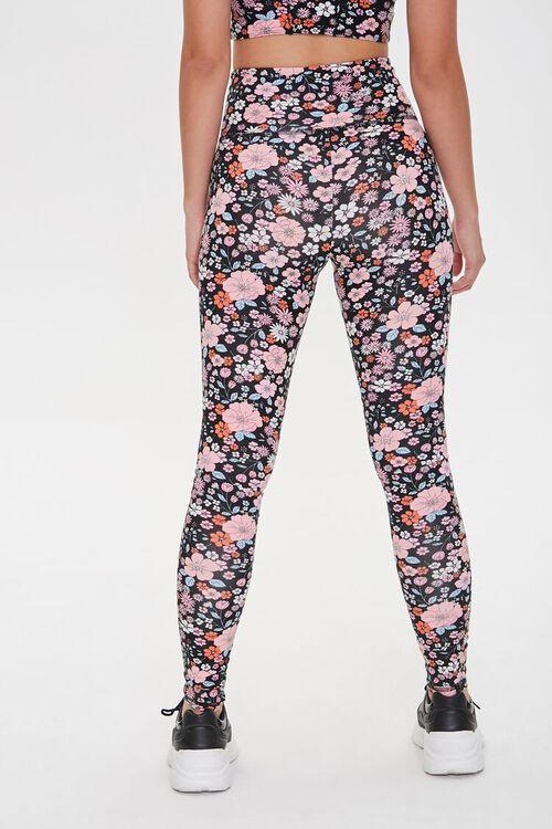 Active Floral Print Leggings, image 4