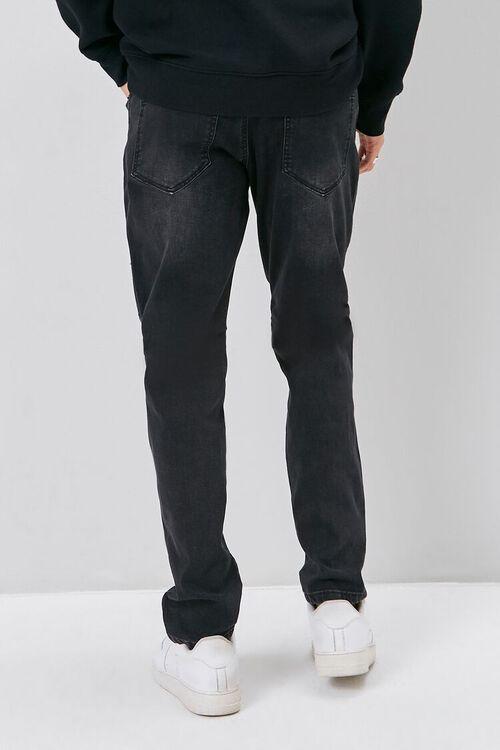 Flap-Accent Straight-Leg Jeans, image 4