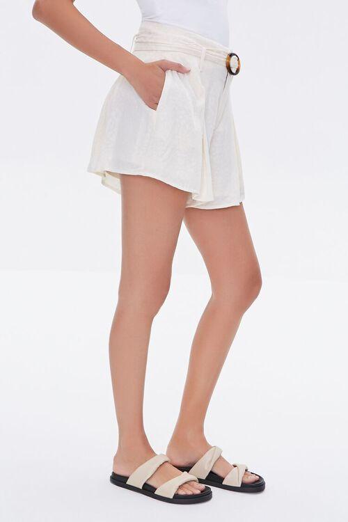 Tortoiseshell Belted Shorts, image 3