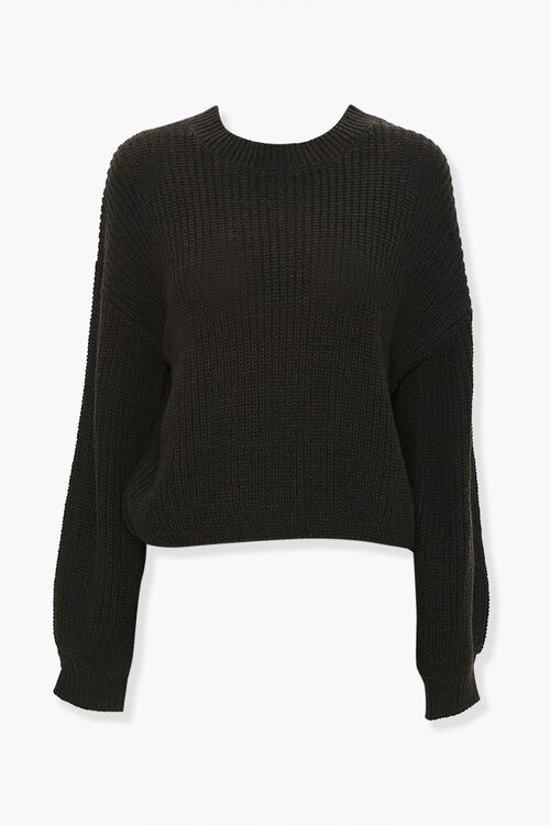 Ribbed Knit Sweater, image 1