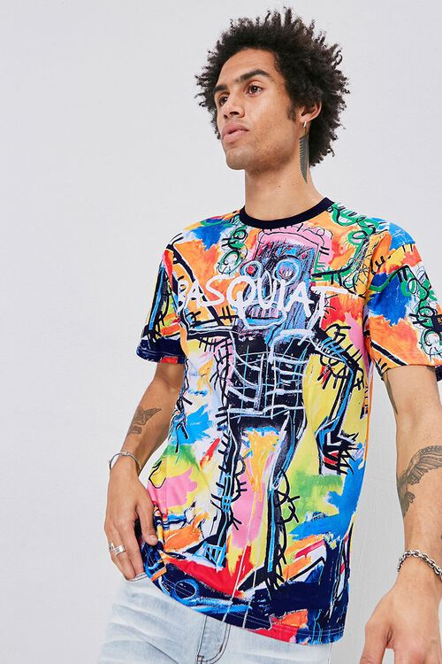 Jean-Michel Basquiat Graphic Tee, image 1