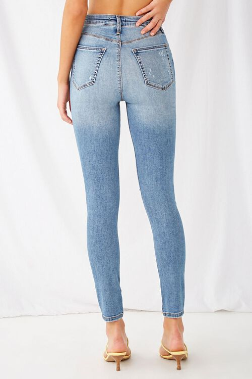Super Skinny Distressed Jeans, image 4