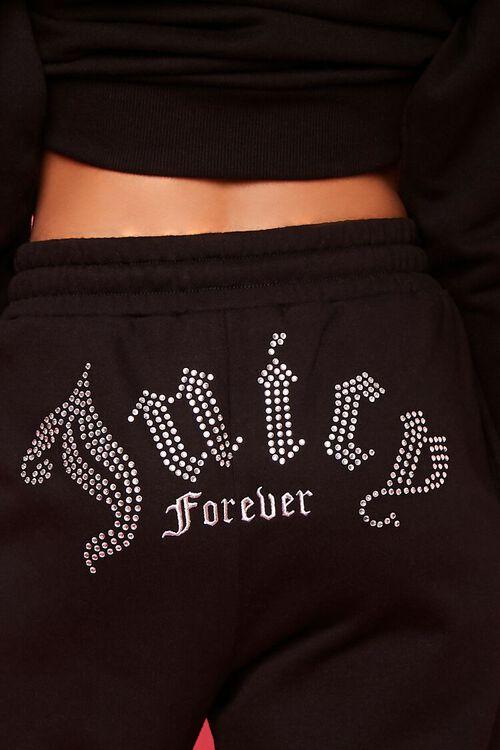 Juicy Couture Rhinestone Fleece Joggers, image 6