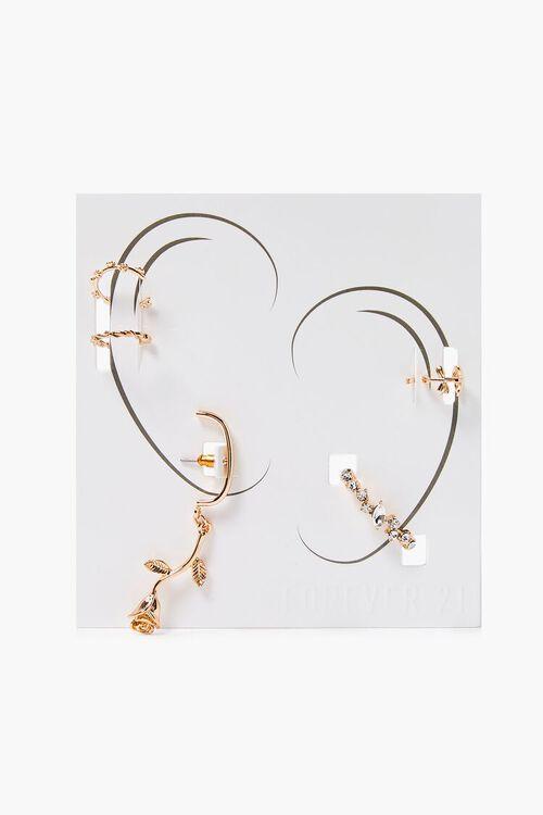 Floral Ear Cuff Set, image 1