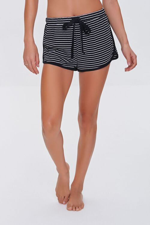 Striped Dolphin Lounge Shorts, image 2