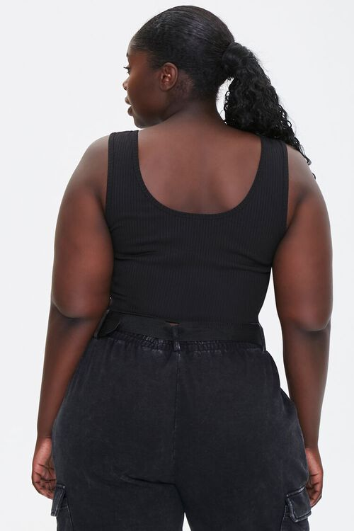 Plus Size Ribbed Tank Top, image 3