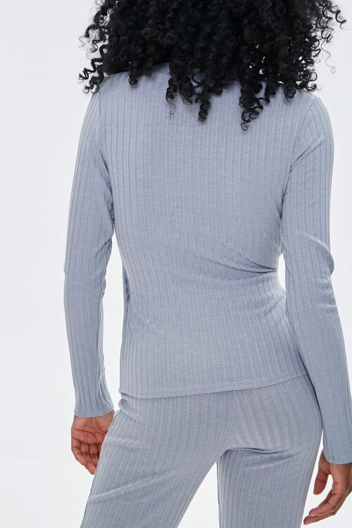 Ribbed Crossover Top, image 3
