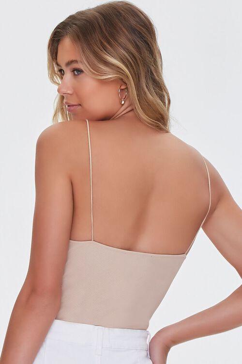 Lace-Trim Cami Bodysuit, image 3