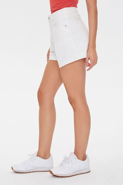 Pleated Denim Shorts, image 3