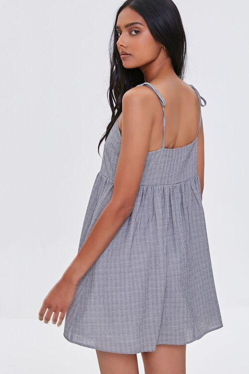 IVORY/BLACK Self-Tie Cami Mini Dress, image 3