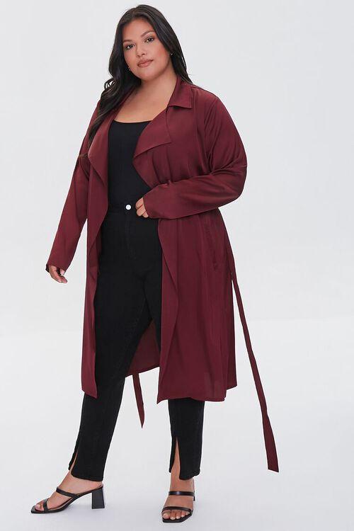 RED Plus Size Wrap Jacket, image 4
