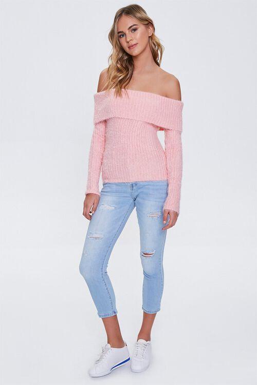 Foldover Off-the-Shoulder Sweater, image 4