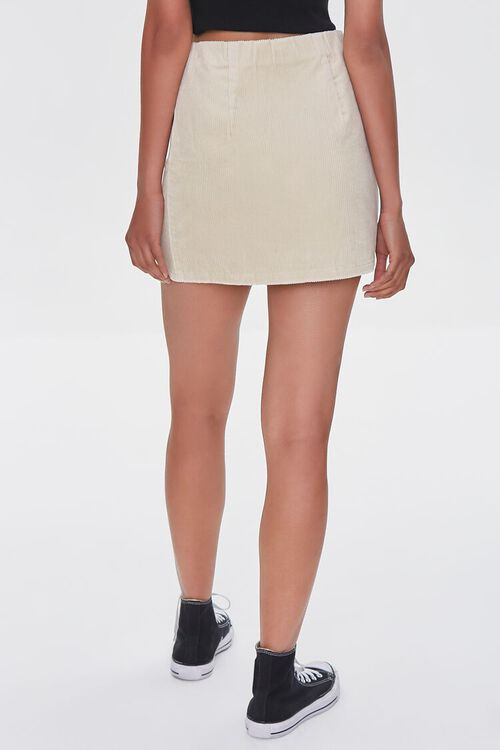 CREAM Corduroy Mini Skirt, image 4