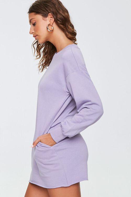 French Terry Sweatshirt Dress, image 2