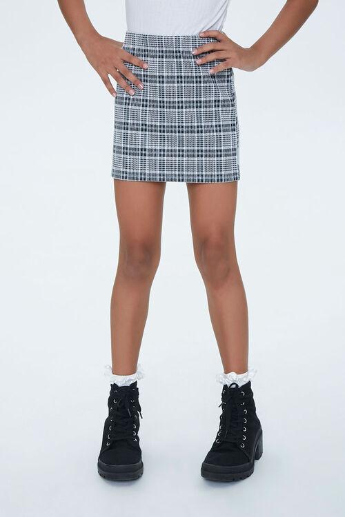 Girls Plaid Skirt (Kids), image 2