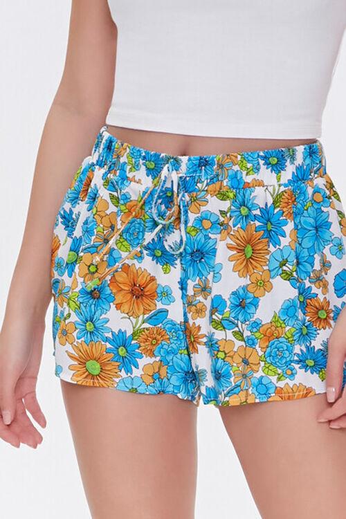 Floral Print Sleep Shorts, image 5