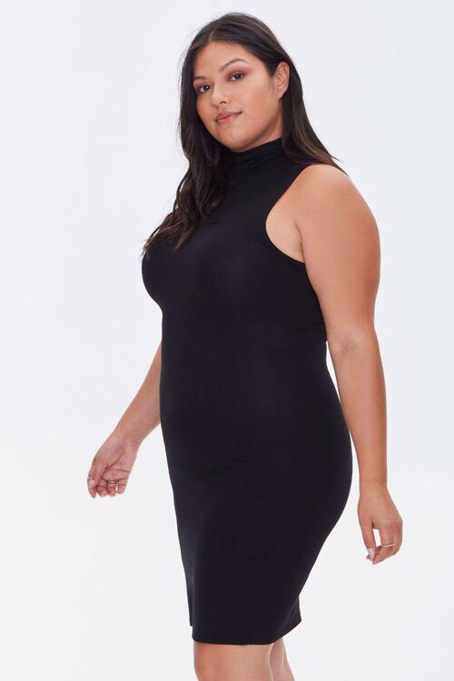 Plus Size Sleeveless Mini Dress, image 2